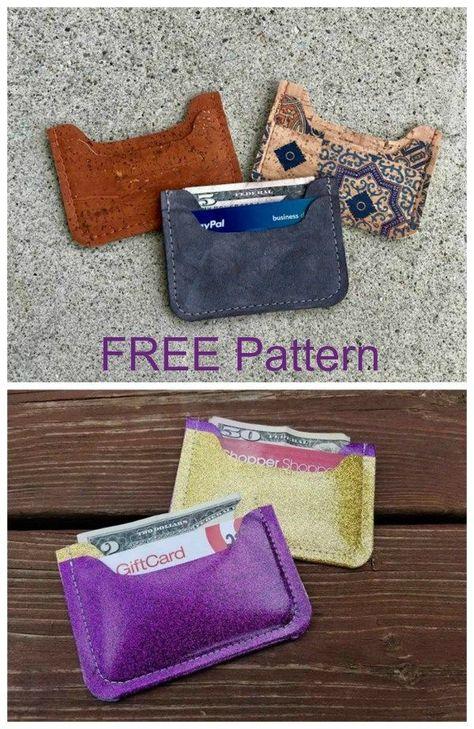 Nickel Wallet Free Pattern Free Nickel Pattern Wallet Walletpattern Dikis Deri