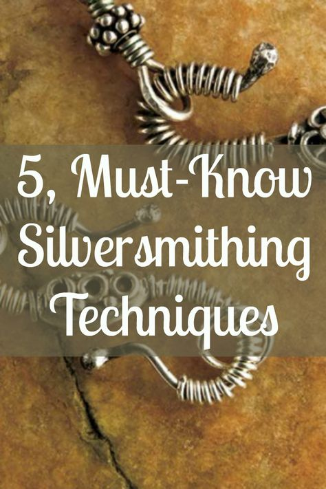 How to Make Silver Jewelry in 5 Simple Steps If you like silver jewelry making, then you'll LOVE these must-known silversmithing techniques!If you like silver jewelry making, then you'll LOVE these must-known silversmithing techniques! Soldering Jewelry, Wire Jewelry, Beaded Jewelry, Handmade Jewelry, Jewelry Storage, Gold Jewelry, Jewlery, Turquoise Jewelry, Vintage Jewelry