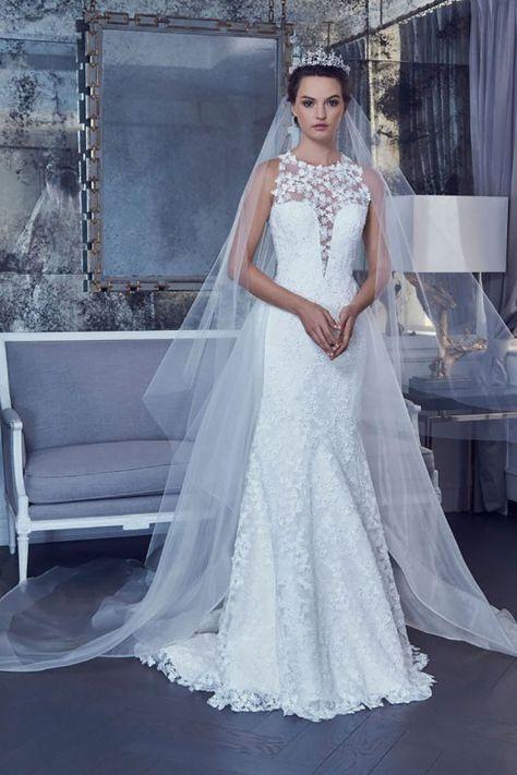 lo mejor del primer día del new york bridal fashion week spring 2019