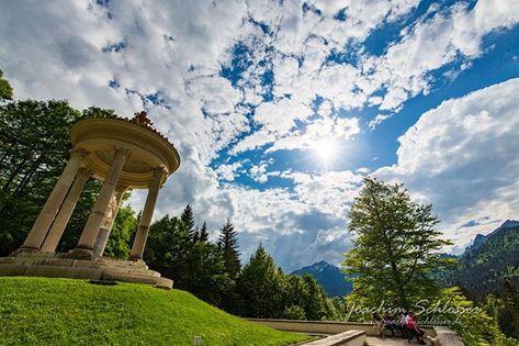 Gloriette Schloss Linderhof Man Kann Verstehen Dass Konig Ludwig Gerne Hier War Schloss Reise Oberbayern Linderhof Konigludwig Photographer Photography