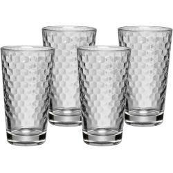 Latte Macchiato Glasses Honeycomb Latte Macchiato Glass Set Of 4 Wmfwmf Coffeebrewing Coffeecanister Coffeecoffee Cof In 2020 Latte Macchiato Macchiato Latte