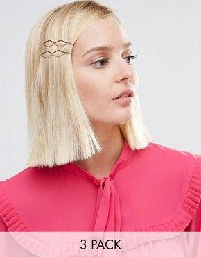 Idee Coiffure Description Kitsch Diamond Shape Hair Clips Coiffure Https Madame Tn Beaute C Idees De Coiffures Produits Capillaires Accessoires Cheveux