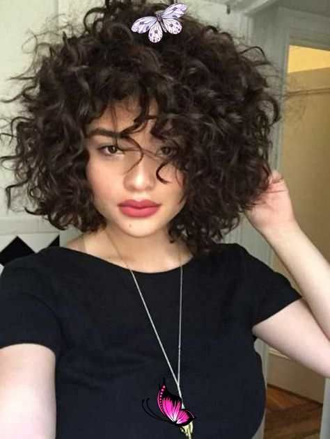 Youtube 20 Curly Short Hair Pics For Pretty Ladies Love This Hair Br In 2020 Curly Hair Styles Thick Hair Styles Short Hair Pictures