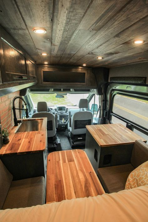 Fred Freedom Vans Airstream Interior Van Living Sprinter Camper