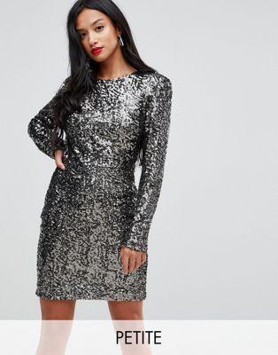 76cf9c03a7c34 John Zack Petite Allover Sequin Shift Dress | Possible Dance Dresses ...