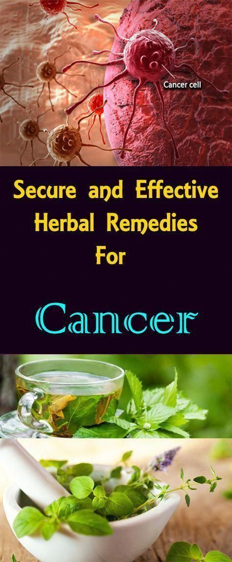 Alternative cures for cancer could certainly eliminate