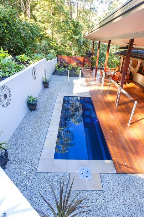 A Tiny Yet Tantalising Plunge Pool A Mini Pool Is Quickly Set Up Often Surprisingly Cheap And The Suitable In 2020 Swimming Pools Backyard Pool Cost Plunge Pool