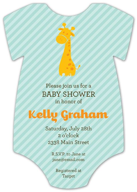 Gender Neutral Baby Shower Invitations #045 Printed Navy Pink Blue Sprinkle Twins Invite Reveal Bridal Couples Gold Girl Boy Striped