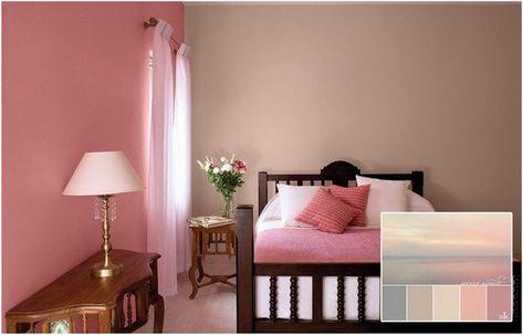 Altrosa Schlafzimmer Decor Ideen Fur Farbkombinationen Als