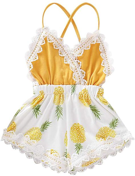 YOUNGER TREE 2pcs Toddler Baby Girls Swimwear Cute Straps Bikini Set Swimsuit Beachwear Outfits