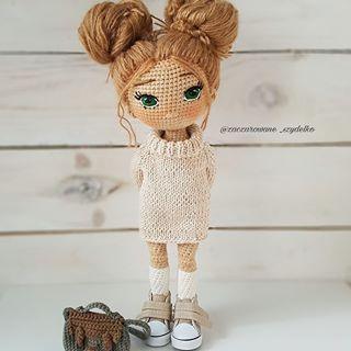 "Ruska Naidenova on Instagram: ""🧡🧡💛🐰💛🧡🧡 #crochet ... | 320x320"
