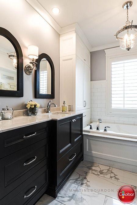 Salle de bain classique chic - Blog de Colobar Peinture & Décoration ...