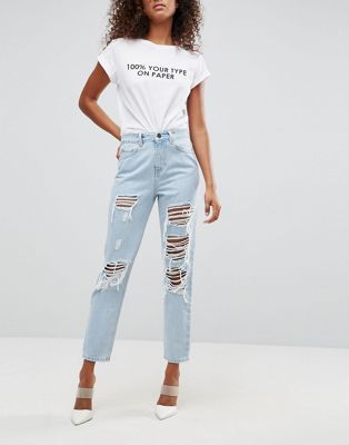 Tommy Hilfiger Urban Outfitters Outfit Ripped Jeans