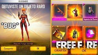Rapido Nuevo Bug Para Ganar Las Skin Legendarias En Free Fire