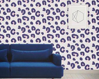 Jungle Animals Pattern Light Blue Peel Stick Fabric Etsy Fabric Wallpaper Wallpaper Animal Wallpaper