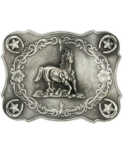 Oval Vintage Running Horse Medieval Gifts Belts Buckle Rodeo Cowboy Gifts