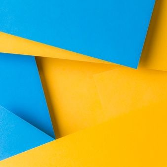 Download Abstract Background Of Blue And Yellow Texture Paper