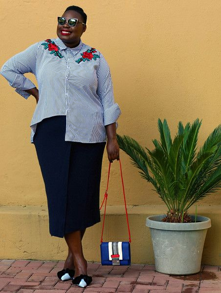 Work Embroidered Tops - Plus Size Summer Styles To Copy Immediately - Photos