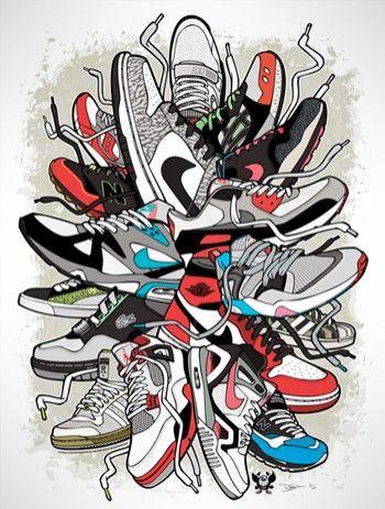 poster sneaker art pinterest art posters
