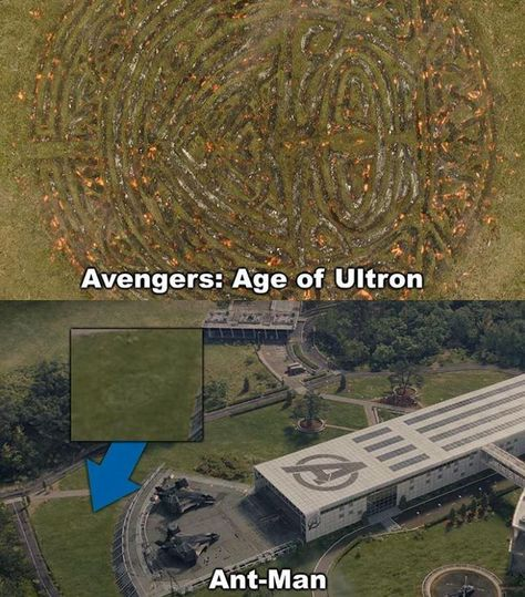 In Ant-Man you can see a trace of the Bifröst that was used by Thor in Avengers: Age of Ultron. Funny Marvel Memes, Marvel Jokes, Avengers Memes, Marvel Heroes, Lego Marvel, Marvel Avengers, Avengers 2015, Iron Man, Iron Fist