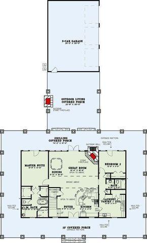 Plan 60702nd Rustic Farmhouse With Wraparound Porch Farmhouse