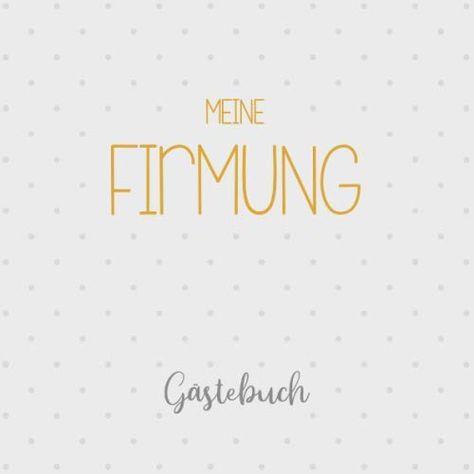 Meine Firmung Ga Stebuch Erinnerungsalbum Fiction Books New Books Books