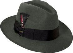 ace0965a9b1 Classic 1940 s Gangster Mafia Al Capone New York Felt Fedora Style ...