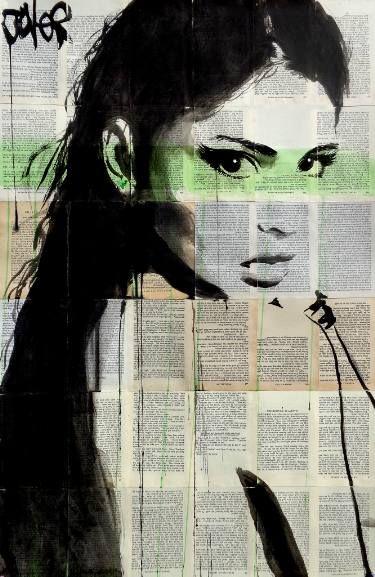 "Saatchi Art Artist LOUI JOVER; Drawing, ""chronicle"" #art"