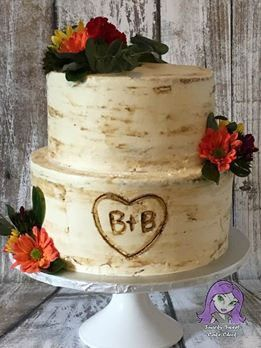 Photo Gallery Bridal Shower Cakes Rustic Rustic Wedding Shower