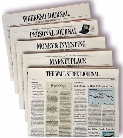 The Wall Street Journal is the best name in the American print media industry. The six day daily circulated from New York offers you a perfect insight into daily American life.