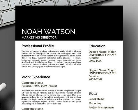 Uber modern design resume template Save Time, Get Your Dream Job - resume templates word 2018