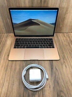 Apple Macbook Air 2018 Gold 13 Touch Id 256gb Ssd 8gb Apple Macbook Apple Macbook Pro Macbook Pro