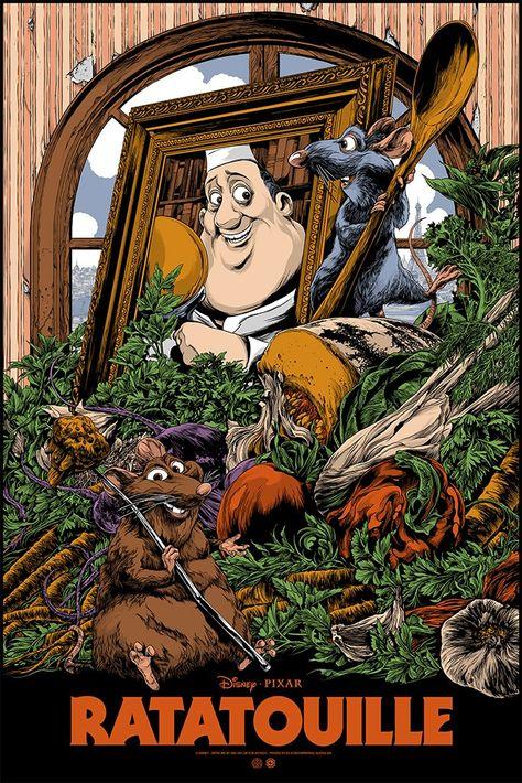 Ratatouille Exclusive Screen Print Poster by Artist Ken Taylor