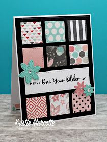I have a new favorite background die. It's made by My Favorite Things and it's perfect for using the last scraps from a 6x6 paper pad. Alth...