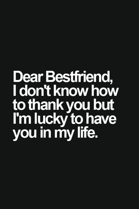 I'm lucky friend. Tap to see more inspiring friendship quotes. - @mobile9