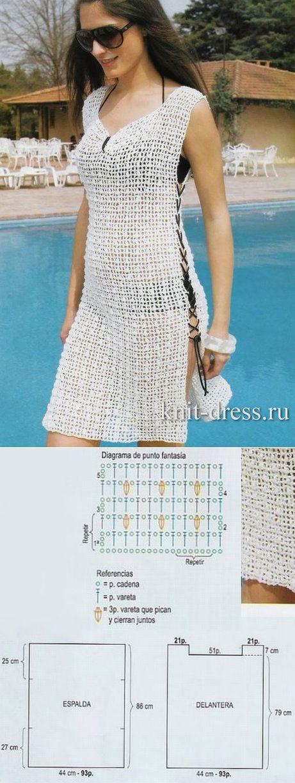 37 best bikinis crochet ganchillo images on Pinterest   Crochet tops ...