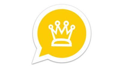 تحميل واتساب الذهبي أخر اصدار مجانا 7 95 Whatsapp Gold واتساب بلس ضد الحظر واتساب ذهبي واتس اب جي بي عمر واتس Whatsapp Gold Messenger Logo Tech Company Logos