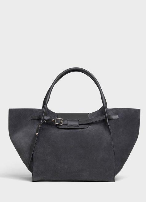 Medium Big bag in suede calfskin   CELINE Official Website