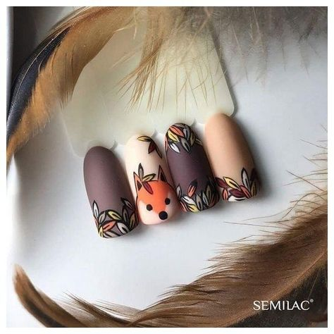 35 best fall nail art designs you must try 00009 | Armaweb07.com