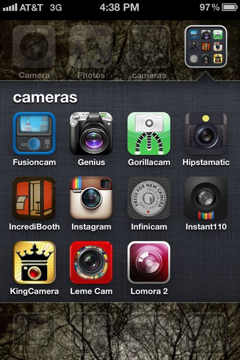 recommended iPhone photography apps