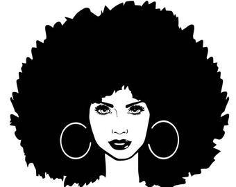 Black Women Nubian Princess Queen Afro Hair Beautiful African Etsy Black Love Art Black Women Art African Women Art