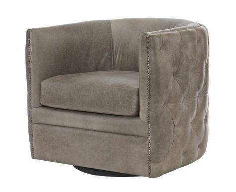 Palazzo Swivel Chair Bondars Furniture Leather Swivel Chair