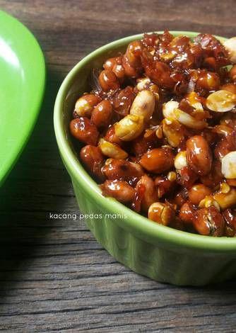 Resep Kacang Pedas Manis Oleh Izza Han Resep Kacang Makanan Cemilan