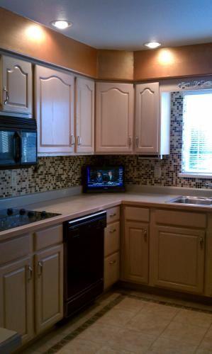 Lima Bean Mosaic Tile Kitchen Pinterest Floors And Splashback Tiles