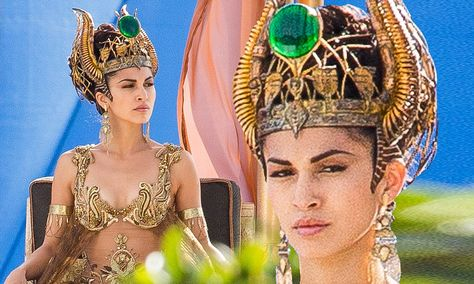 French actress (half Cambodian and half French), Elodie Yung stars as goddess in Gods Of Egypt, 2016