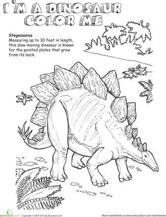 Dinosaurs - 999 Coloring Pages SRP 2013 Dig Into Reading - copy animal dinosaurs coloring pages