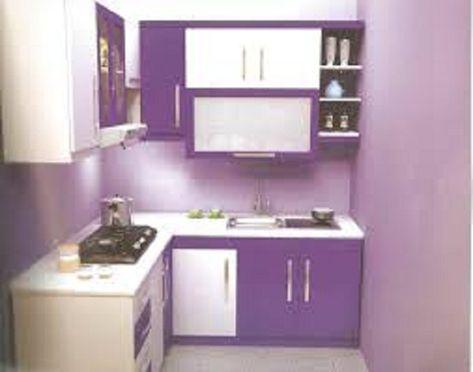desain dapur kecil dan sempit di apartemen (dengan gambar