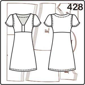 023add84008f310 Выкройка длинного платья с рукавами крылышками | porrivan | Dresses with  sleeves, Dresses, Sewing