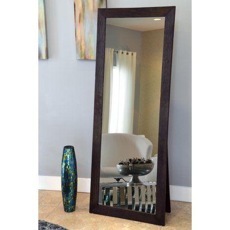Freestanding Cheval Floor Cheval Mirror Espresso 72 X 28 By Naomi Home Walmart Com In 2020 Floor Decor Floor Mirror Decor