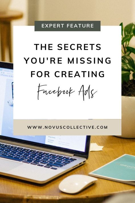 The Secrets You're Missing To Facebook Ads | Online Business Manager tips - novus collective | Facebook | Facebook Ads | Instagram | Social Media Tools | social media how-tos | how to use facebook ads | frannie coggeshall | facebook expert | conversion rate | online business owner | entrepreneur | social media ads | entrepreneur advice | generating sales | facebook leads #facebookads #facebookforbusiness #expertinsight #onlinebusiness